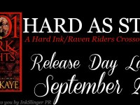 Release Day Launch & Giveaway: Hard As Steel by Laura Kaye