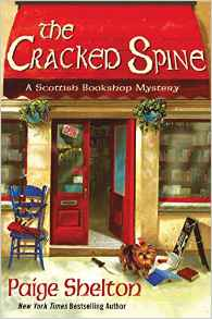 Blog Tour & Review: The Cracked Spine by Paige Shelton