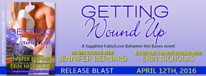 Release Blast & Giveaway: Getting Wound Up by Jennifer Bernard and Erin Nicholas