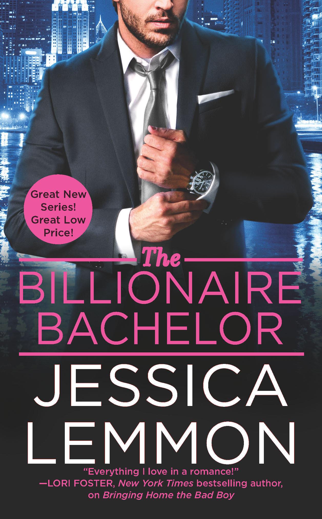 Blog Tour & Giveaway: The Billionaire Bachelor by Jessica Lemmon
