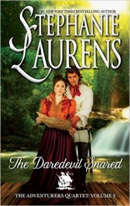 Blog Tour & Giveaway: The Daredevil Snared by Stephanie Laurens