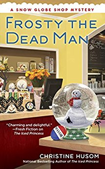 Blog Tour & Review: Frosty the Dead Man by Christine Husom