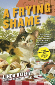 Book Spotlight: A Frying Shame by Linda Reilly