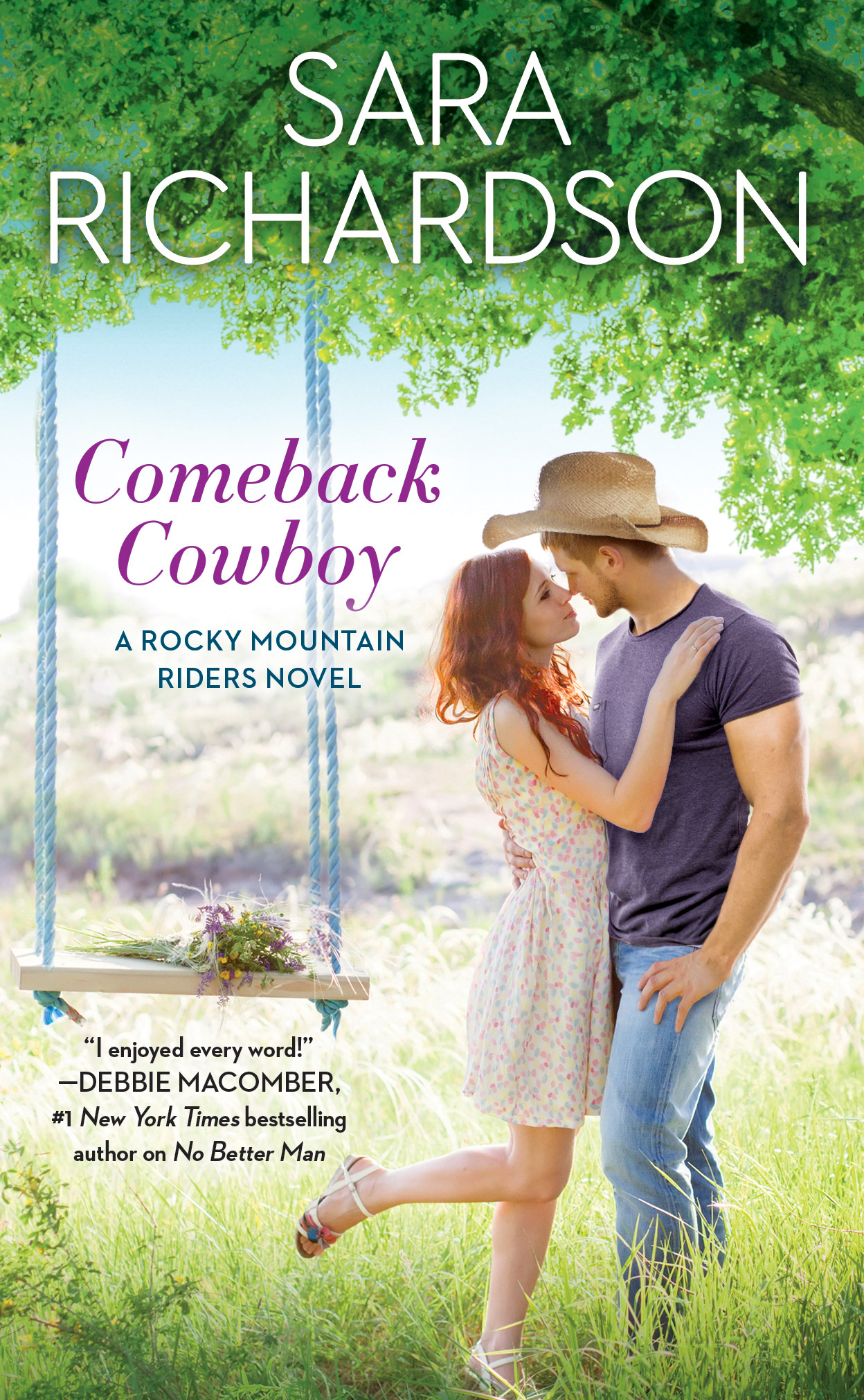 Release Day Blitz & Giveaway: Comeback Cowboy by Sara Richardson
