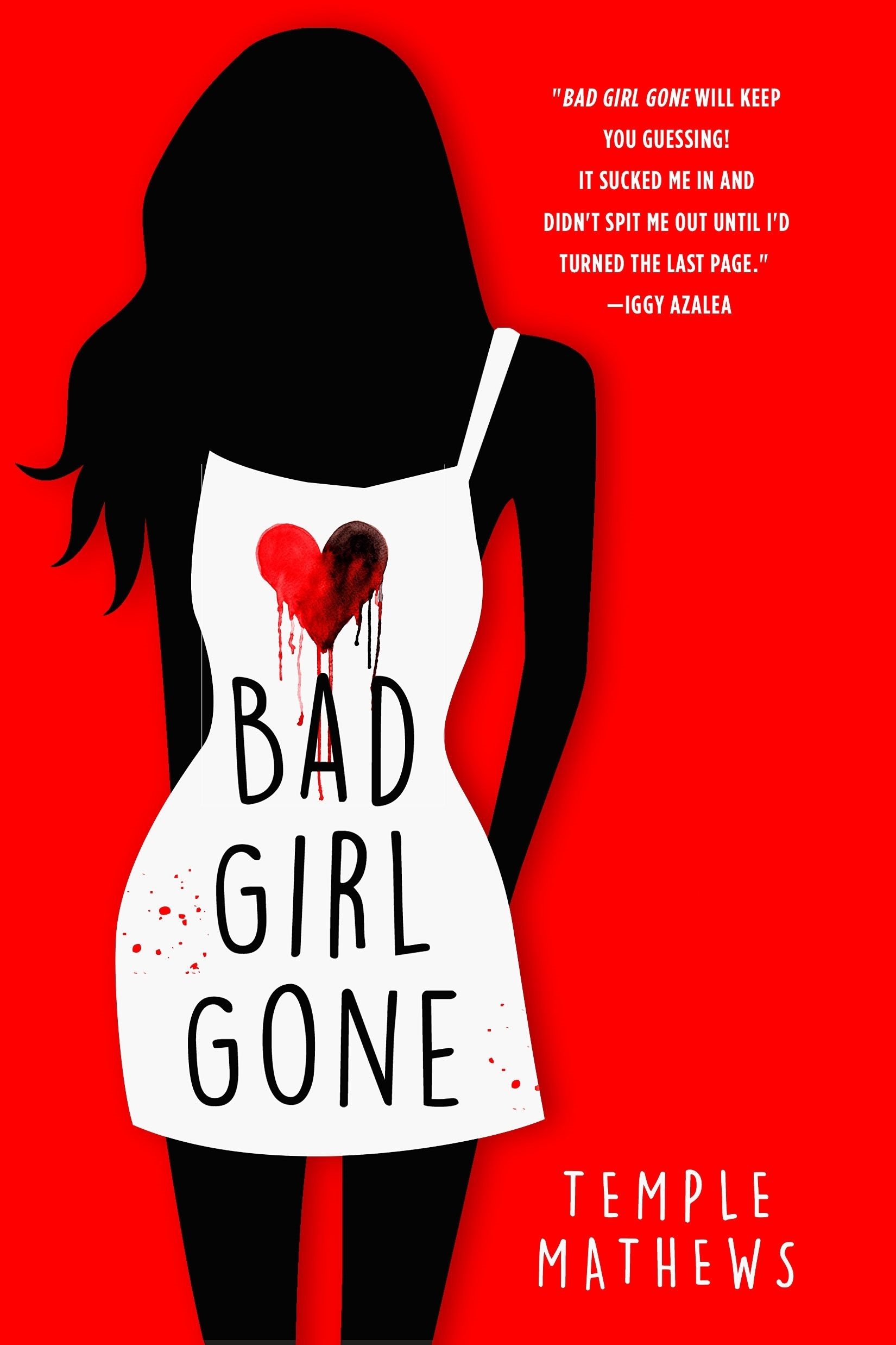 Blog Tour & Review: Bad Girl Gone by Temple Mathews
