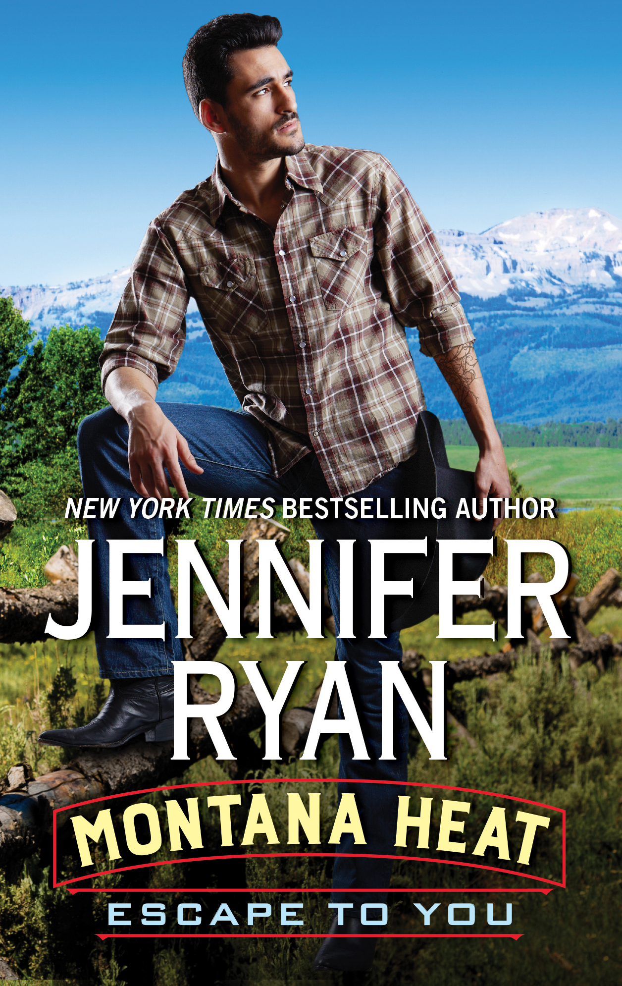 Blog Tour & Review: Montana Heat: Escape To You by Jennifer Ryan