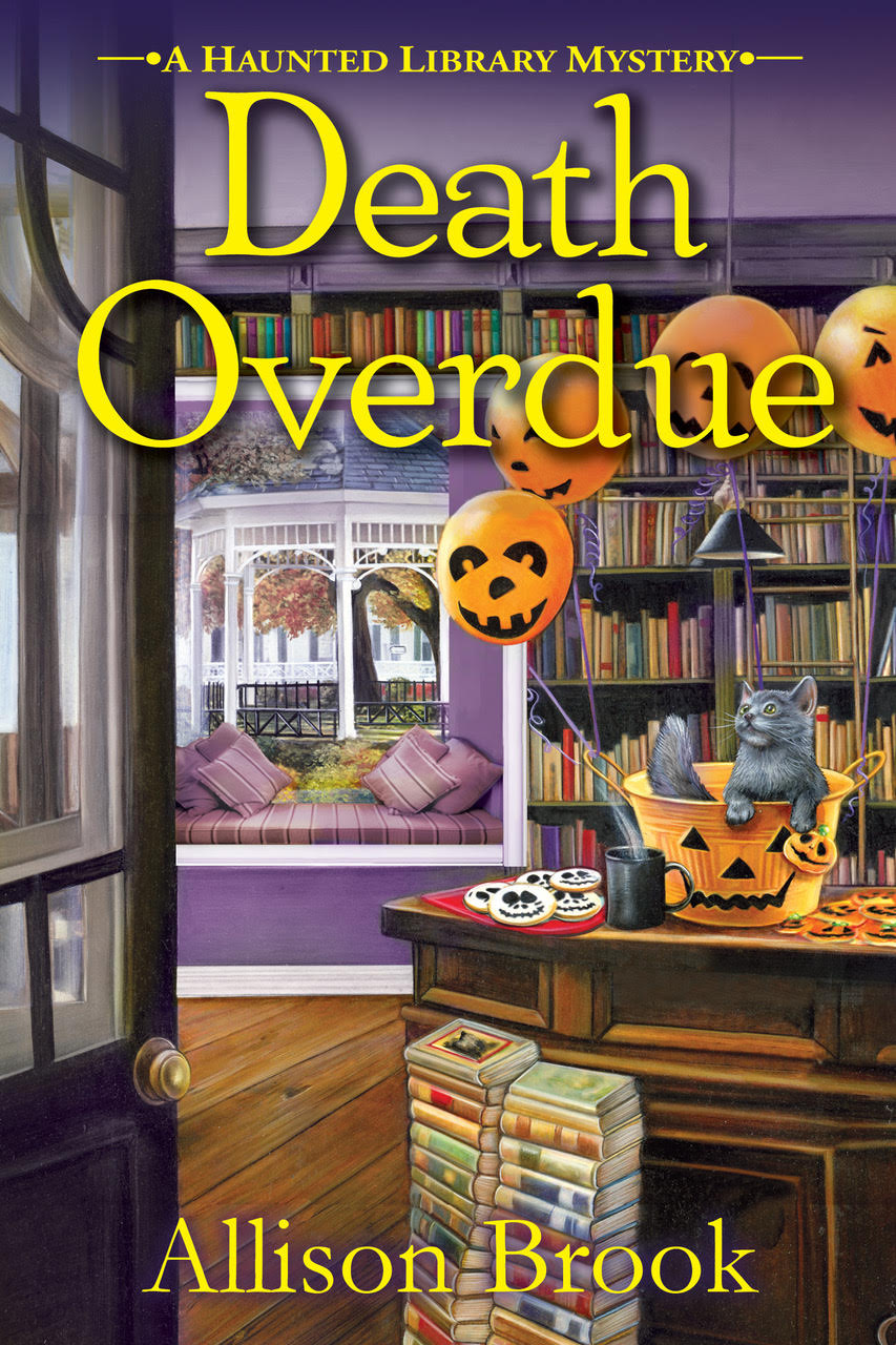Blog Tour & Giveaway: Death Overdue by Allison Brook