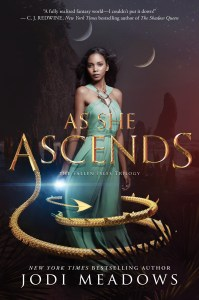 Blog Tour: Playlist for As She Ascends by Jodi Meadows