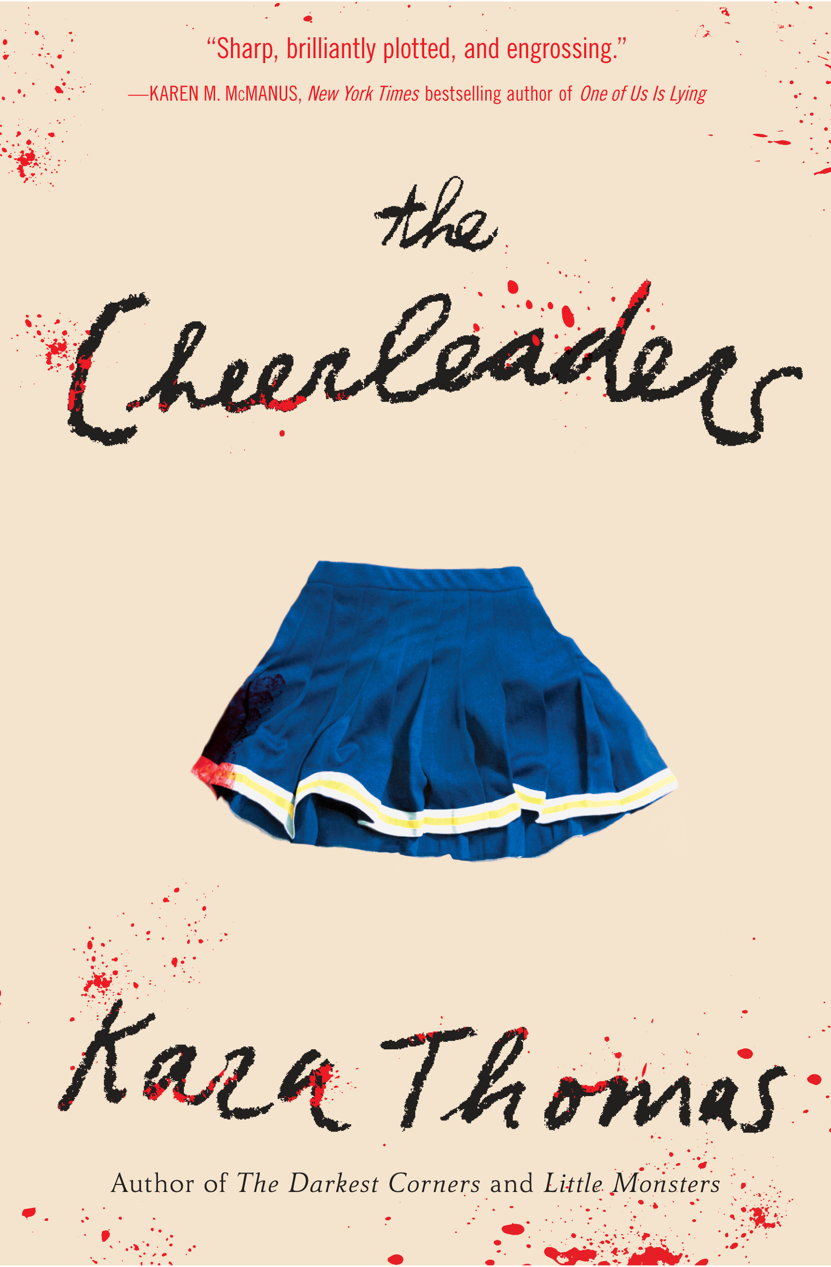 Blog Tour & Giveaway: The Cheerleaders by Kara Thomas