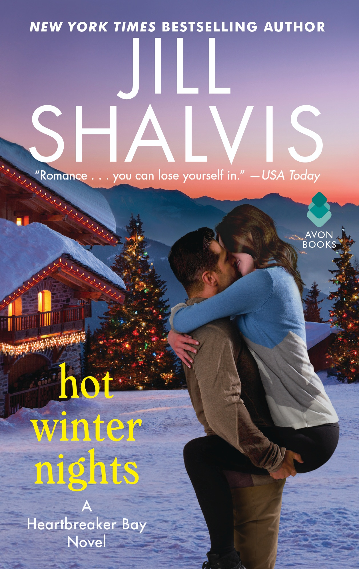 Blog Tour & Giveaway: Hot Winter Night by Jill Shalvis
