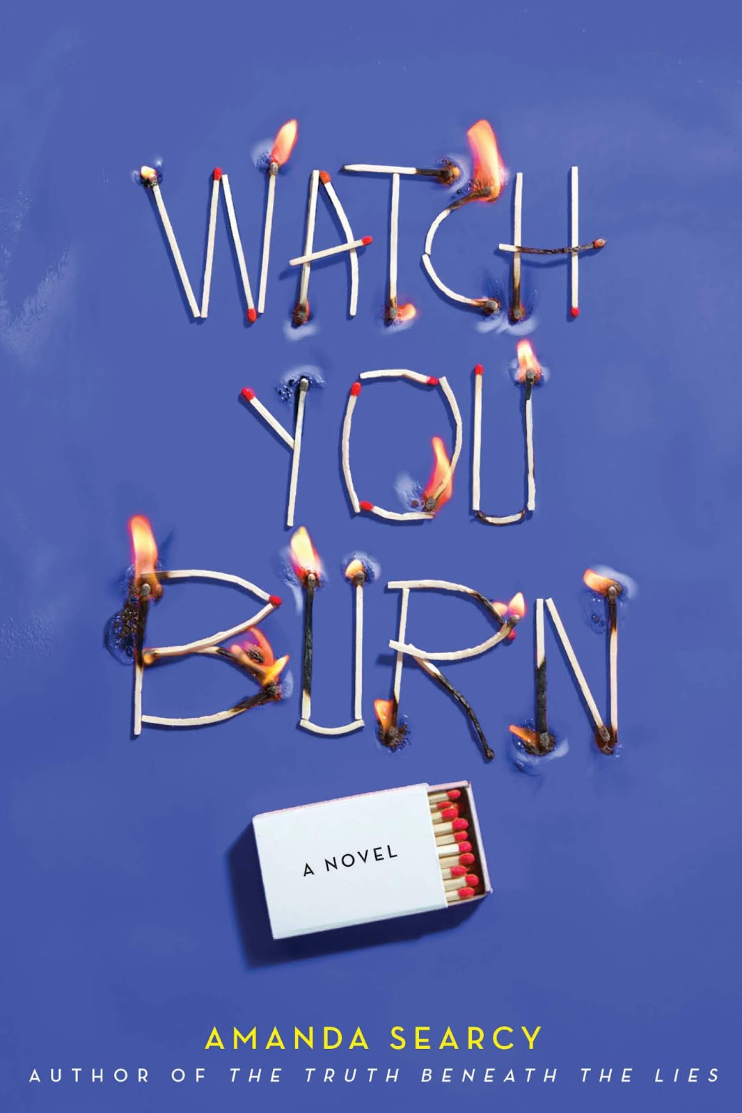 Blog Tour & Giveaway: Watch You Burn by Amanda Searcy