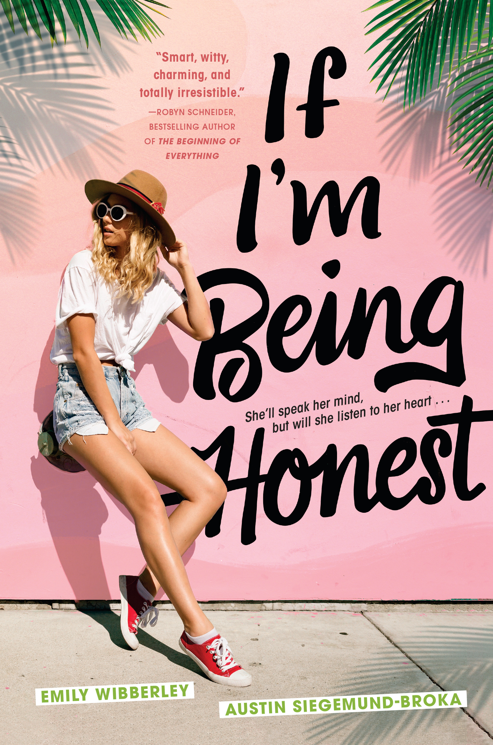 Blog Tour & Review: If I'm Being Honest by Emily Wibberley and Austin Siegemund-Broka