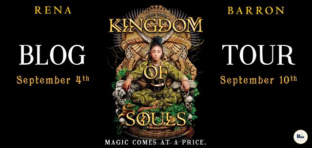 Blog Tour & Review: Kingdom of Souls by Rena Barron