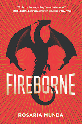 Blog Tour & Giveaway: Fireborne by Rosaria Munda