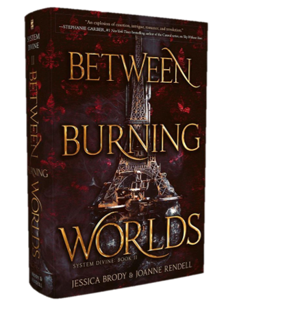 Blog Tour & Review: Between Burning Worlds by Jessica Brody & Joanne Rendell