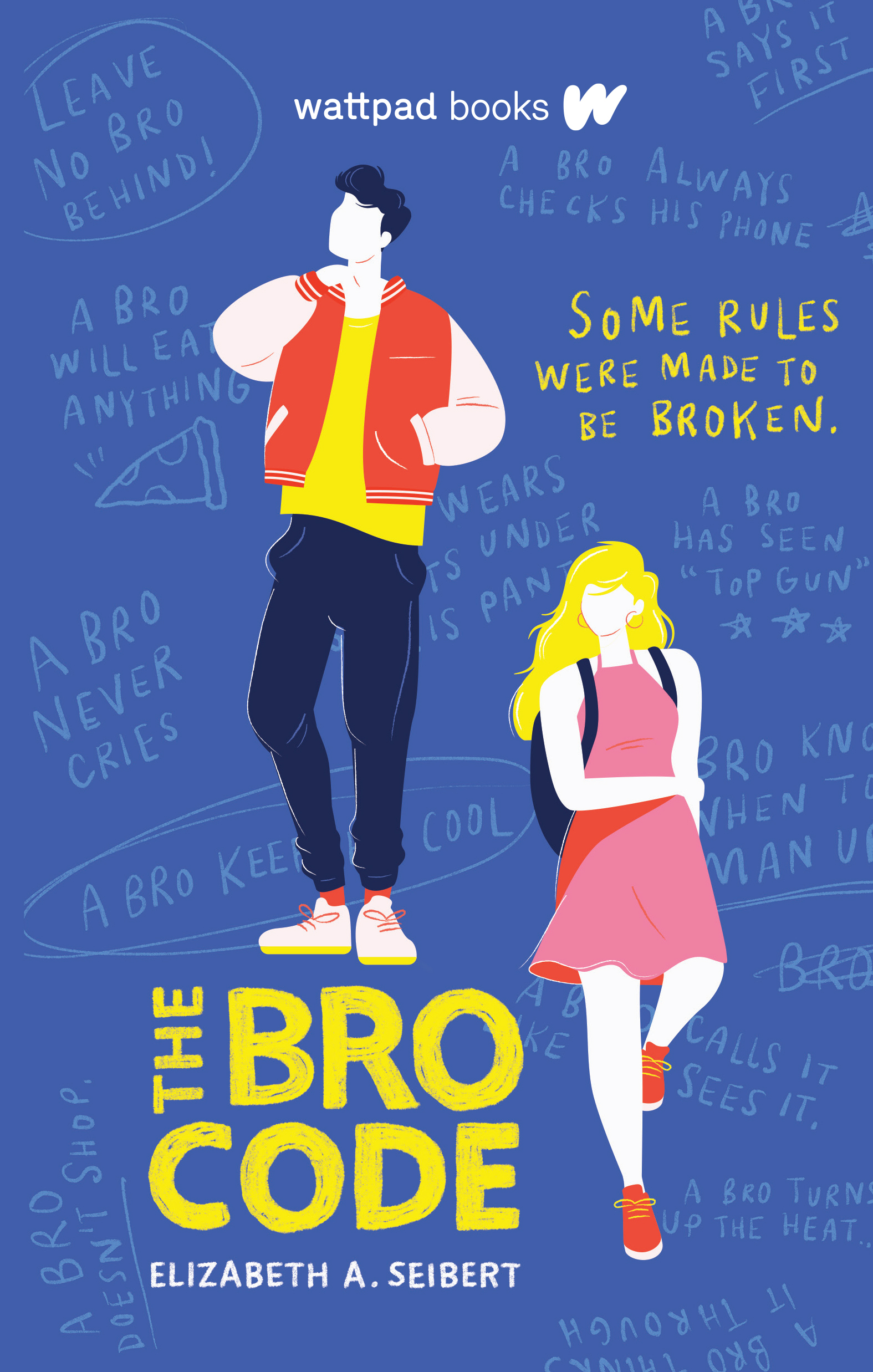 Blog Tour & Review: The Bro Code by Elizabeth A. Seibert