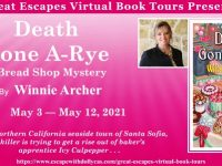 Blog Tour & Giveaway: Death Gone A-Rye by Winnie Archer