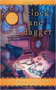 Blog Tour & Review: Clock and Dagger by Julianne Holmes