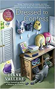 Blog Tour & Review: Dressed To Confess by Diane Vallere